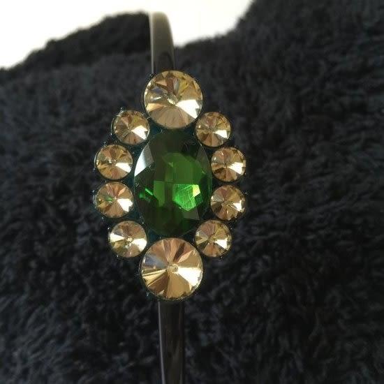復古寶石髮箍-法國知名品牌,韓星御用韓國製造