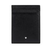 【MONT BLANC】匠心系列4卡名片/卡片夾(黑色) 116340
