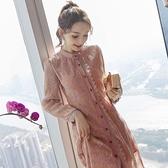 女神衣2021年新款女裝春季裙子輕熟風洋氣御姐風連身裙氣質女神范衣服LX 嬡孕哺