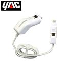 轉換器 日本YAC Lightning-MicroUSB轉換車用充電器(TP-193) Apple蘋果/iPhone【亞克】