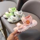 女童涼鞋 女童涼鞋夏季新款兒童時尚休閒潮鞋男童鞋軟底防滑學生沙灘鞋-Ballet朵朵