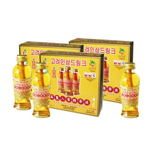 金蔘-韓國高麗人蔘精華液(3入/盒,共20盒)