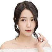假瀏海(真髮)-中分無痕隱形修臉女假髮4色73uh20【時尚巴黎】