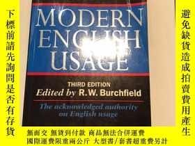二手書博民逛書店The罕見new Fowler's Modern English