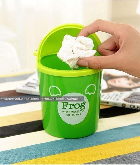 迷尼可愛動物卡通桌上型垃圾桶  隨機出貨【省錢博士】
