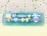 【震撼  】大耳狗_Cinnamoroll Sanrio 大耳狗喜拿透明鉛筆盒84734