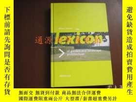 二手書博民逛書店Lexicon罕見of garden and landscape