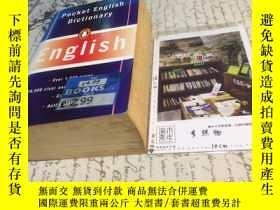 二手書博民逛書店英文原版罕見pocket English Dictionary