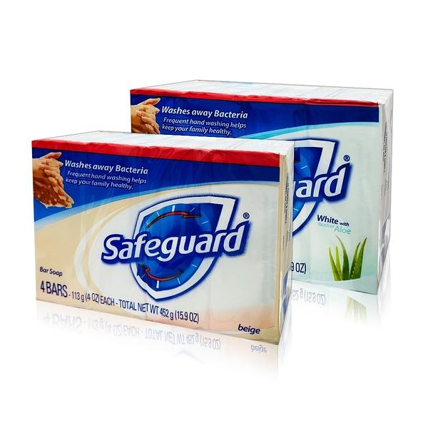 美國Safeguard洗手皂113g*4 (2款任選)