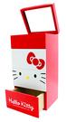 【震撼精品百貨】Hello Kitty 凱蒂貓~HELLO KITTY大臉多功能收納盒