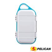 美國 PELICAN 派力肯 塘鵝 G40 防水 微型 小型 氣密箱 藍白色 / 露營 戶外運動 單車 適用