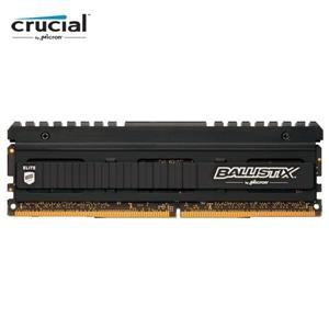 【綠蔭-免運】Micron Ballistix Elite 菁英版 D4 3600 8G 狂野黑的散熱片超頻記憶體