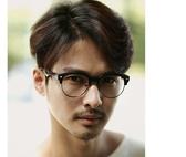 複古韓國STYLE潮流半框平光鏡vintage時尚大框黑色框男女眼鏡框架超取3-7天收貨