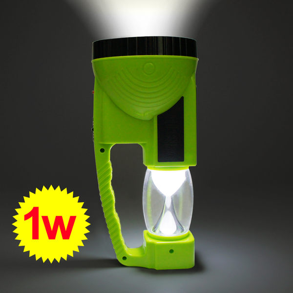 【2合1手電筒露營燈】太陽能 插頭 雙用 戶外旅遊 夜遊 燈泡 KC-8830 [百貨通]