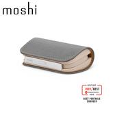 Moshi IONGO 5K Duo 雙向充電帶線行動電源 USB-C 及 Lightning 雙充電線 湛藍色