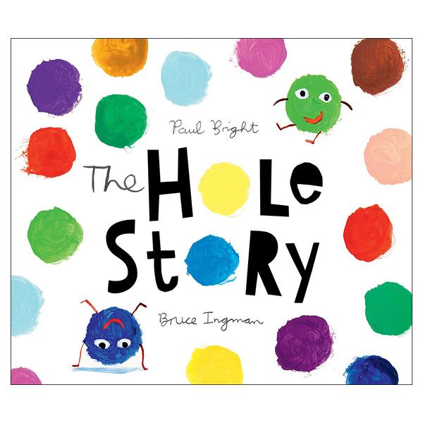 麥克書店The Hole Story幽默趣味英文圖畫童書