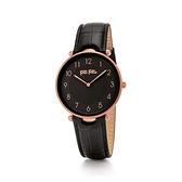 【Folli Follie】Lady Club簡約核心精緻時尚腕錶-質感黑/WF17R015SSK_BK/台灣總代理公司貨享兩年保固