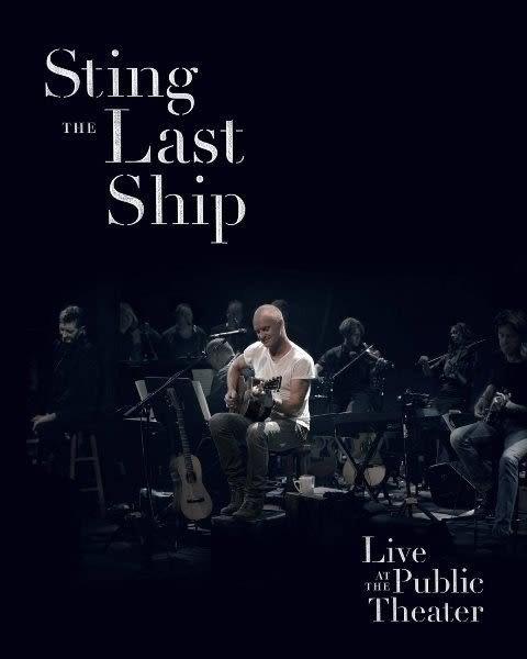 史汀 最後方舟現場 DVD Sting   Live At The Public Theater  (購潮8)
