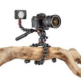 【聖影數位】JOBY JB74 金剛爪 錄影用三腳架3K PRO 章魚腳架 雲台 JB01562
