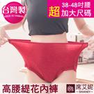 女性超加大尺碼內褲 (38~48吋腰圍適...