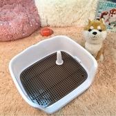 狗廁所泰迪大中碼號型犬自動沖水寵物狗柯基用品拉屎尿盤便器砂盆  免運快速出貨