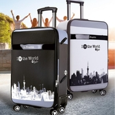 行李箱 學生拉桿箱男28寸大容量密碼箱26寸帆布女24寸防水皮箱 - 歐美韓熱銷