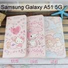 三麗鷗彩繪皮套 Samsung Galaxy A51 5G (6.3吋) Hello Kitty 雙子星 美樂蒂【正版】