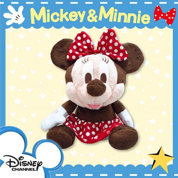 『不會擺動,只會回聲』▼美國迪士尼授權 米妮 / 雪寶回聲玩偶