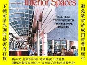 二手書博民逛書店Sketching罕見And Rendering Interior Spaces-繪制和渲染內部空間Y4366