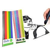 3Doodler 3D列印筆 ABS PLA顏料 買三送一 (顏色隨機)