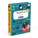 【法國Janod】磁鐵遊戲書-有趣的臉新...