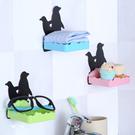 企鵝掛壁式香皂盒 黏貼 置物 懸掛 整理...