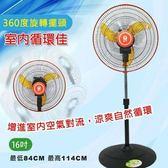 【晶工牌】16吋循環電風扇 LV-1678