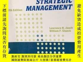 二手書博民逛書店business罕見policy and strategic m