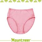 【Mountneer 山林 女 透氣三角中腰內褲《淺粉》】11K82-30/透氣內褲/排汗內褲/三角褲