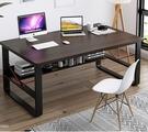 電腦桌 簡約臺式辦公桌家用學生簡易書桌租房臥室寫字桌學習小桌子【快速出貨八折鉅惠】