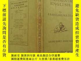 二手書博民逛書店FUNDAMENTAL罕見ENGLISH SECOND SERI