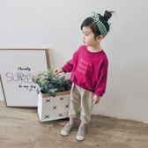 女童秋裝2018新款韓版時尚休閒鉛筆褲兒童條絨長褲寶寶燈芯絨褲子