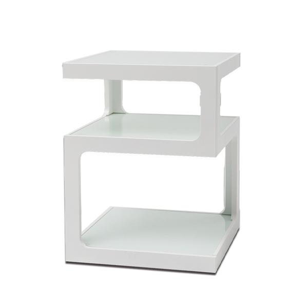 邊桌 茶几 【R0147】唐恩強化玻璃三層邊桌 完美主義
