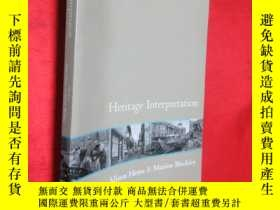 二手書博民逛書店Heritage罕見Interpretation (小16開)