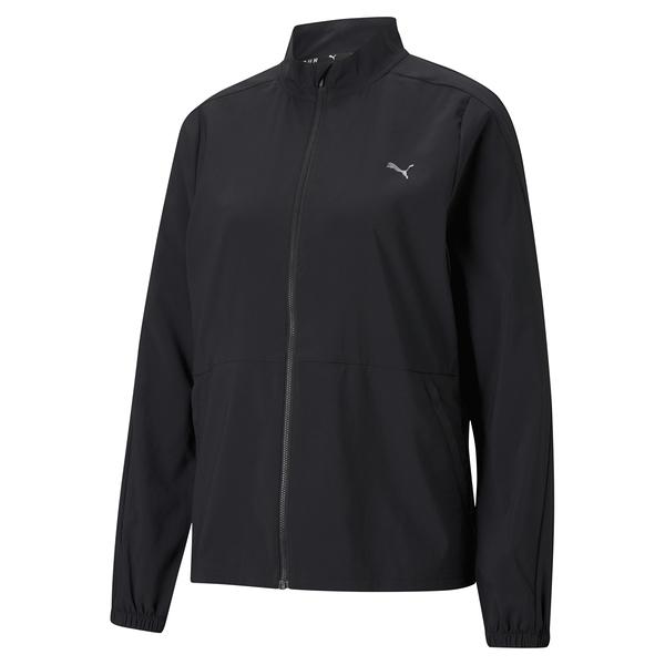 PUMA 女款黑色慢跑系列 FAV立領風衣外套-NO.52018501