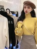 高领毛衣女寬松外穿2020新款洋氣秋冬韓版打底衫內搭高領百搭針織衫毛衣女裝 嬡孕哺