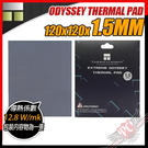 [ PCPARTY ] 利民 Thermalright ODYSSEY THERMAL PAD 120x120x1.5mm 奧德賽 導熱片