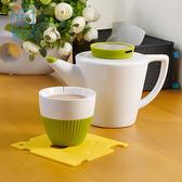 店長推薦 整理生活耐熱硅膠隔熱墊餐桌墊防燙墊創意茶杯墊鍋碗墊防滑4件套