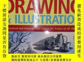 二手書博民逛書店The罕見Complete Guide to Drawing &