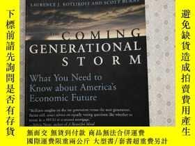 二手書博民逛書店The罕見Coming Generational Storm: