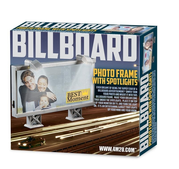 迷你廣告刊版相框 Billboard photo Frame with Spotlights
