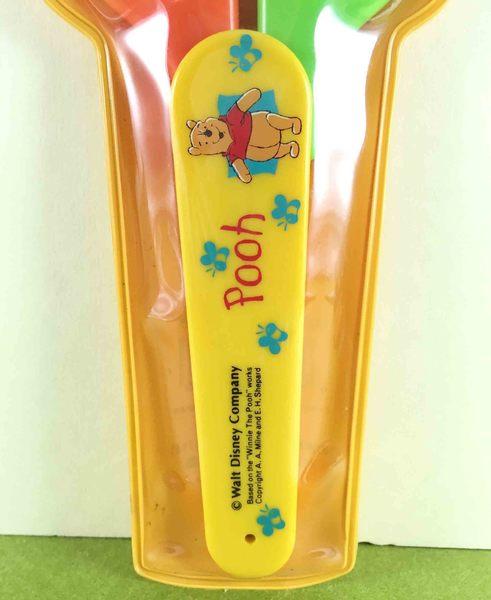 【震撼精品百貨】Winnie the Pooh 小熊維尼~剪刀-橘綠