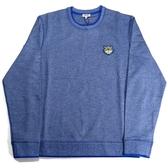 【KENZO】小虎頭LOGO長袖上衣(牛仔藍)  F655SW0054MA 74
