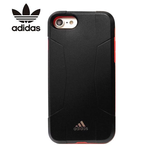 adidas Originals 4.7吋 iPhone 6/6S/7 Solo Case 黑+紅 防摔保護殼/全包覆 耐衝擊/手機殼/保護套/27775